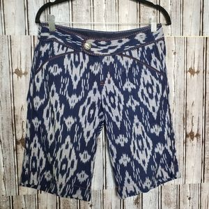 Anthropology Bermuda shorts.